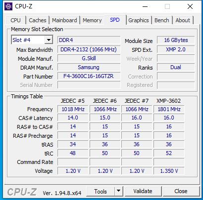 RAM bleibt bei 1800Mhz trotz XMP?