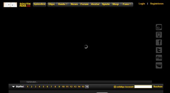 Ladesymbol - (Google Chrome, Adobe Flash Player, Videoplayer)