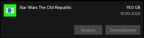 Star Wars the old Republic lässt nicht nicht richtig deinstallieren wie kann ich das entfernen?