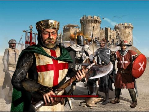 Stronghold Crusader - (computerspiele, Stronghold, Strategiespiel)