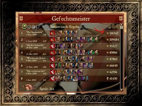 Kronen Ergebnis - (computerspiele, Stronghold, Strategiespiel)