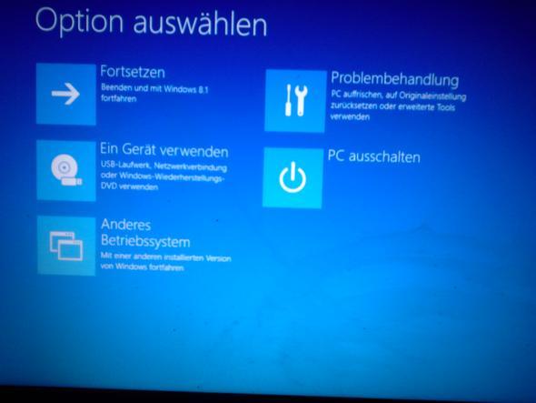 Das ist der Bildschirm - (Laptop, Toshiba, neu aufsetzen)