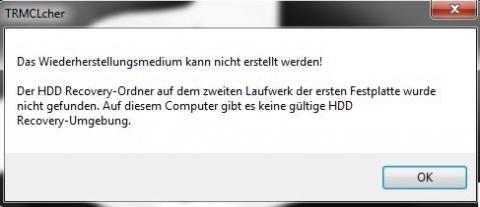 Fehlermeldung - (Computer, Toshiba)