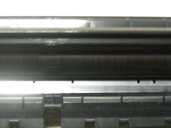 Streifen auf der Trommel-Walze - (Laserdrucker, Streifen, Trommel)
