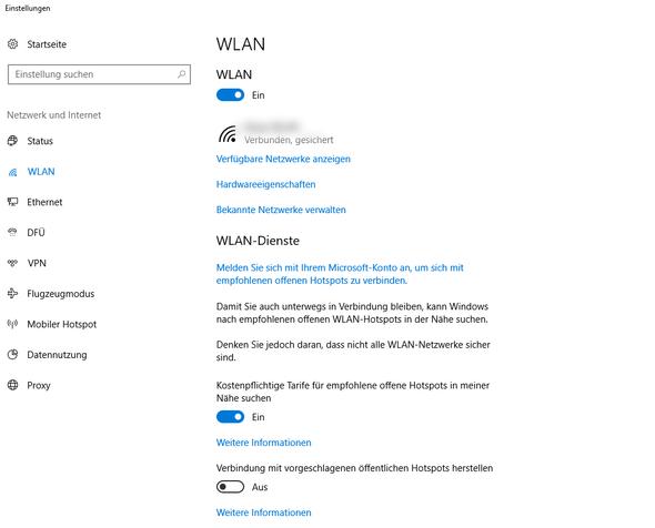 Zufällige Hardwareadresse - (Internet, Hardware, WLAN)