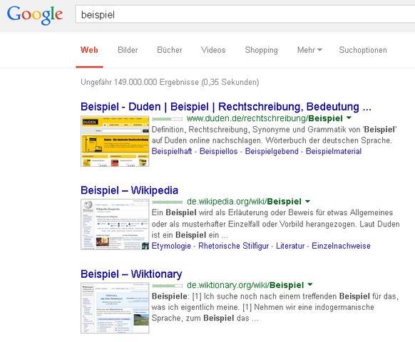 Aussehen der Google-Suche in Firefox - (Internet, Firefox, Browser)