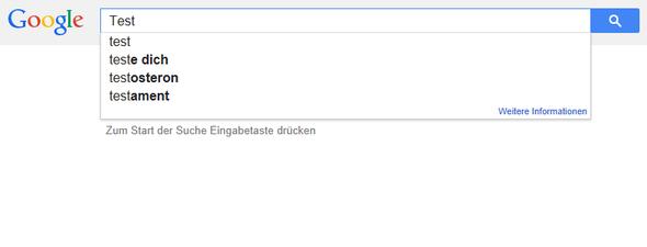 """Warum zeigt Google keine Suchvorschläge unter dem Begriff """"Mädchen"""", aber zu """"Junge"""" an?"""