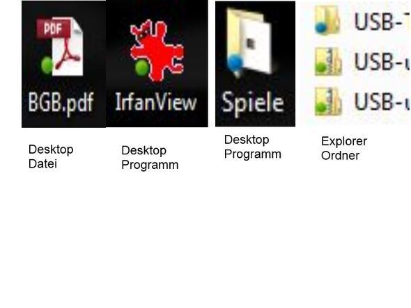 Punktförmige Markierungen bei Ordner- und Datei-Icons - (Windows 7, Icon, Punktmarkierungen)