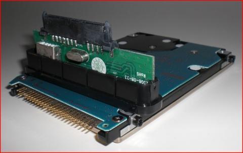 Festplatte mit Adapter - (Festplatte, MAC, Anschluss)