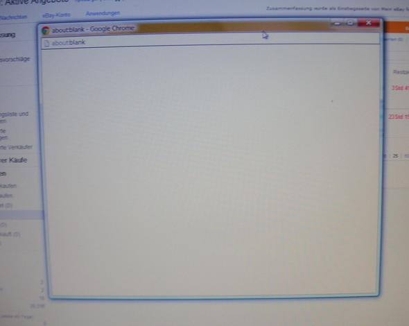 Werbefenster leer bei Google - (Werbefenster, Werbeeinblendung)