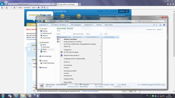 In der Leiste ganz Oben, wird das Programm auch weiterhin angezeigt - (Windows 7, Windows, Programm)