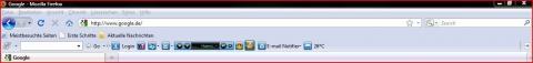 Anzeige bei Firefox - (Firefox, Browser, Mozilla Firefox)