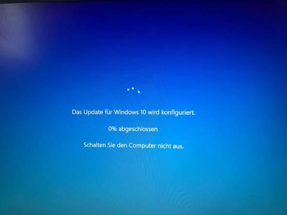 Wie breche ich ein Update von Windows10 ab?