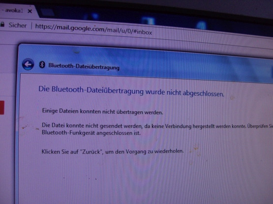 Bluetooth-4 - (Bluetooth-Problem, Bluetoothübertragung von Fotos)
