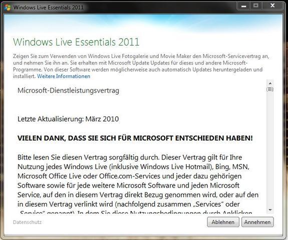 Windows Live Essentials 2011 - (Windows, Bildansicht, Windows Essentials)