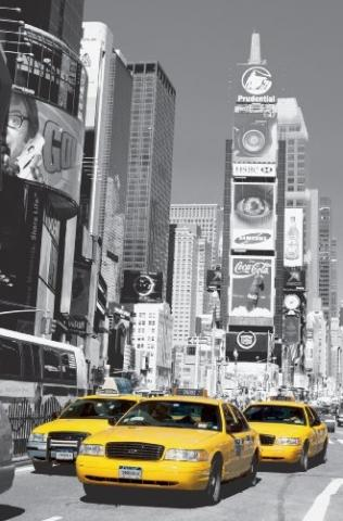 Taxi in New York - (bildbearbeitung, Photoshop)