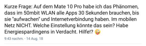 - (WLAN, Smartphone, Android)