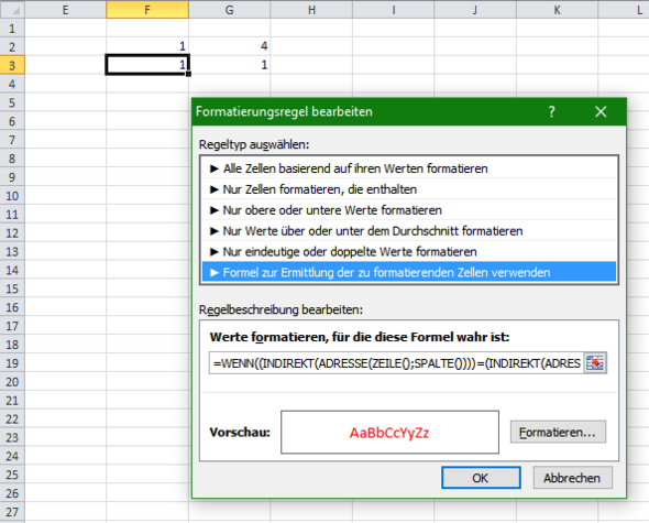 Bild1 - (Office, Excel, Tabelle)