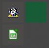 Wie mache ich die Icons im Windows Startmenü immer sichtbar?