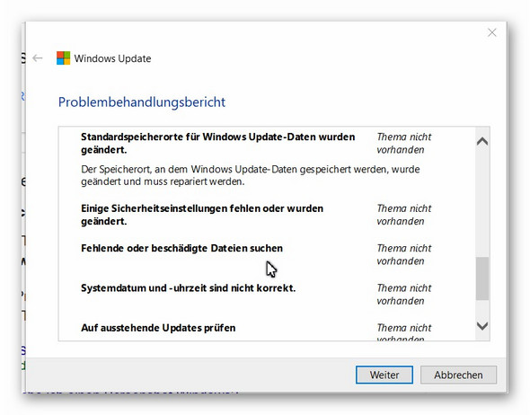 - (Windows 10, Update 1803)