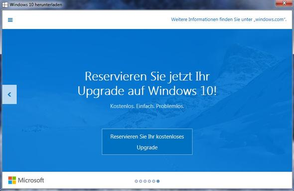 Windows 10 Angebot - (update, Windows 10)