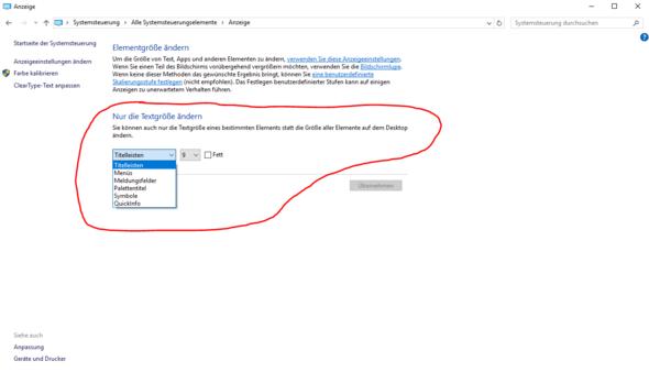 Systemsteuerung Anzeige-Einstellungen - (Windows, Windows 10, Registry)