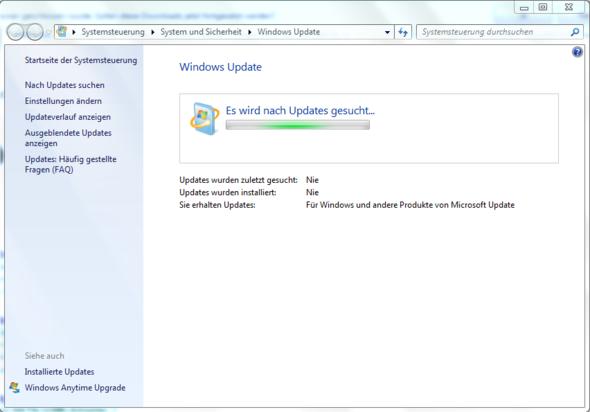 Mehr Passiert nicht - (Windows 7, Microsoft, update)