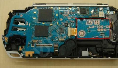 PSP Slim TA-085v1 Mainboard - (Hardware, Konsolen, Playstation)