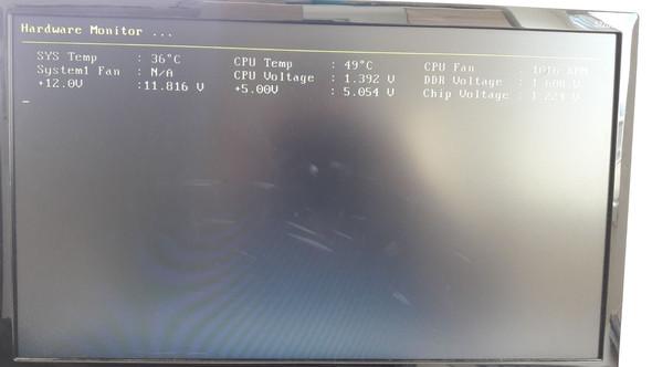 CPU Voltage : 1,392 Volt - (übertakten, Overclocking, Spannung)